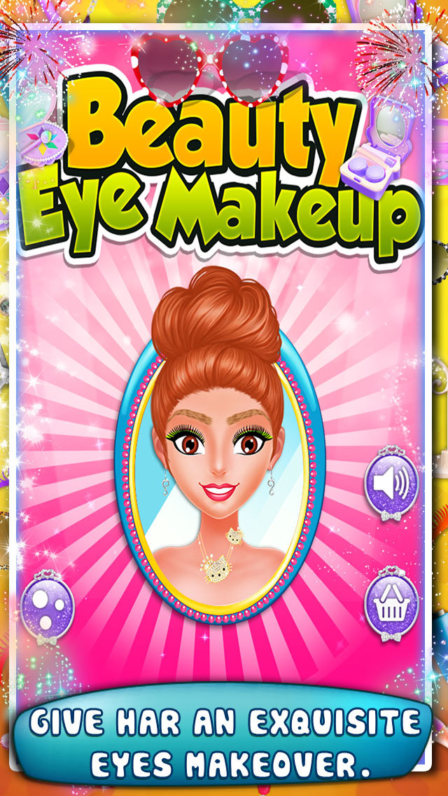 Beauty Eye Makeup Game screenshot 2