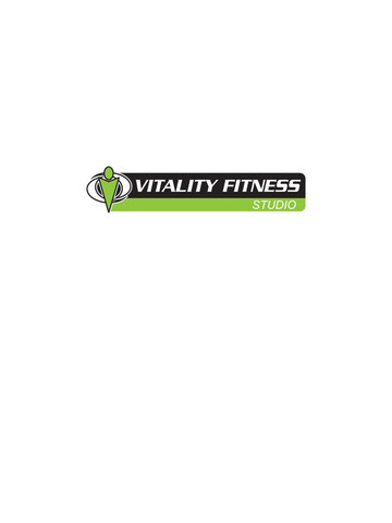 Vitality Fitness Studio screenshot #3