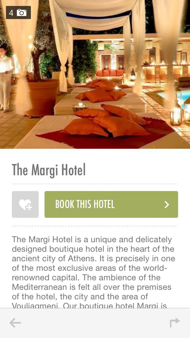 Epoque Hotels - World's Boutique Hotels screenshot 3