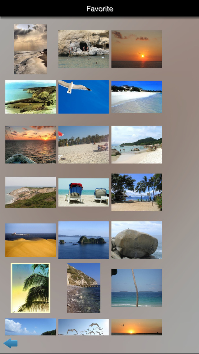 Beaches Guide screenshot 1