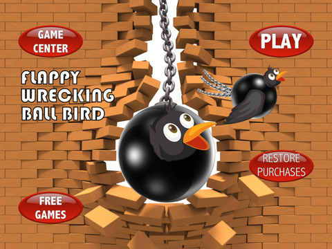 Flappy Wrecking Ball Bird Pro Full Version screenshot 6