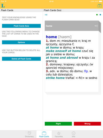 Słownik CLASSIC angielsko<->polski screenshot 8