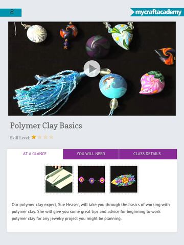Creating Jewellery with Polymer Clay Canes screenshot 7
