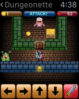 Dungeonette for Apple Watch screenshot 4