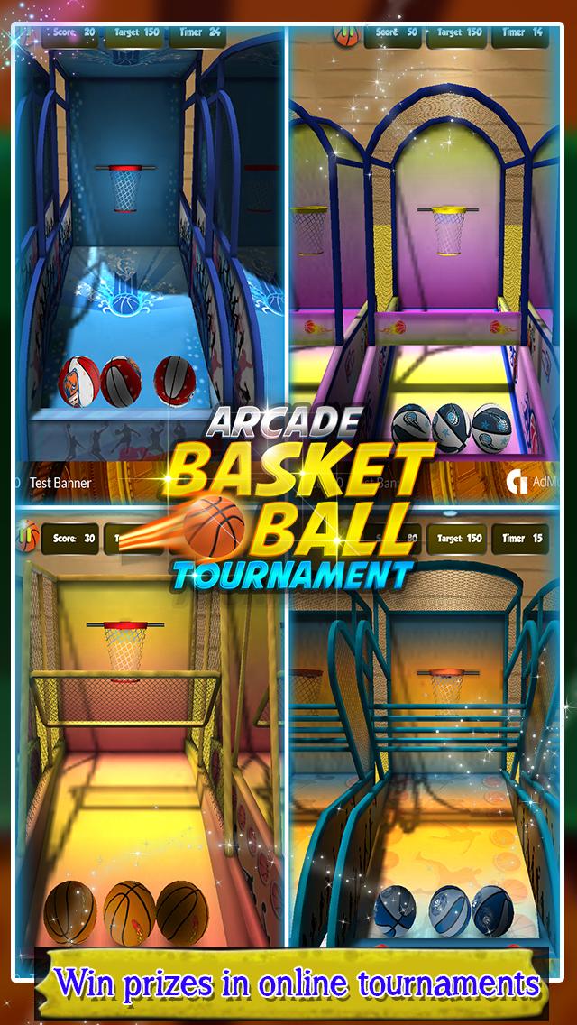 Arcade Basketball Tournament screenshot 1