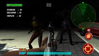 3D Zombie Killer (17+) - The Walking Night Of Terror Assault Force Edition screenshot 3