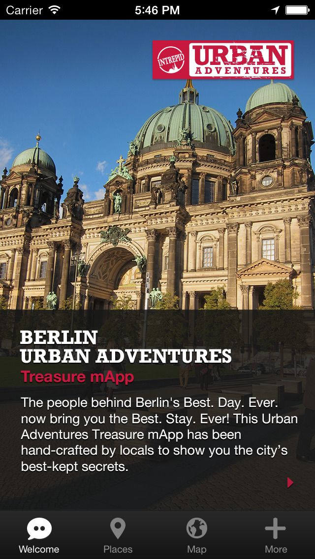 Berlin Urban Adventures - Travel Guide Treasure mApp screenshot 1