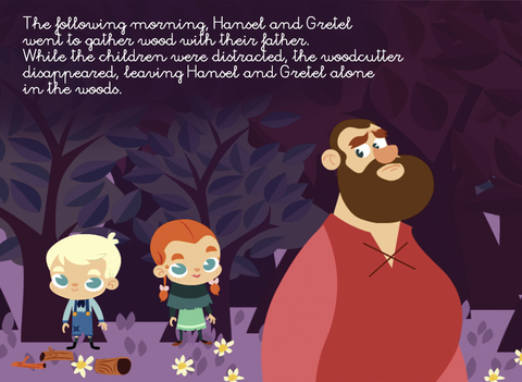 Hansel & Gretel - Multi Language book screenshot 10
