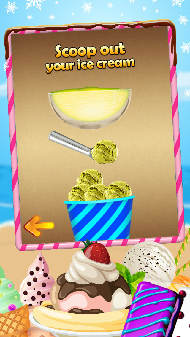 A AmazeBalls Dessert Maker Ice-Cream Creator - Cones, Sandwiches & Sundaes screenshot 3