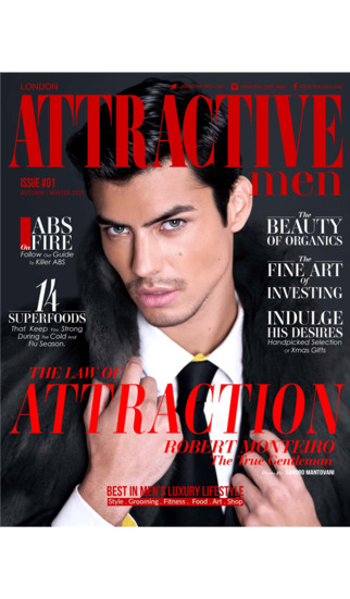 ATTRACTIVE MEN - Tailored magazine for the successful and stylish man who wants to live life beyond the ordinary. screenshot 1