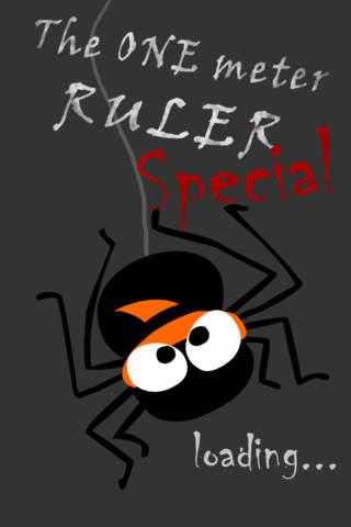 1m Ruler Special - Halloween Ruler - náhled
