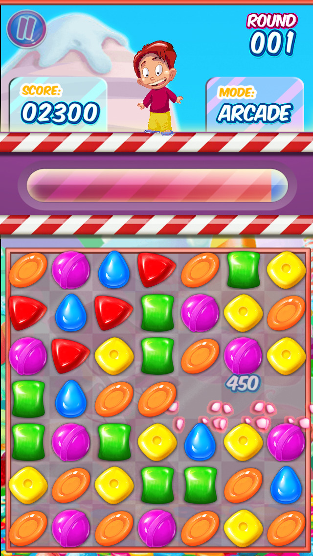 Gummy Candy Adventure screenshot 2