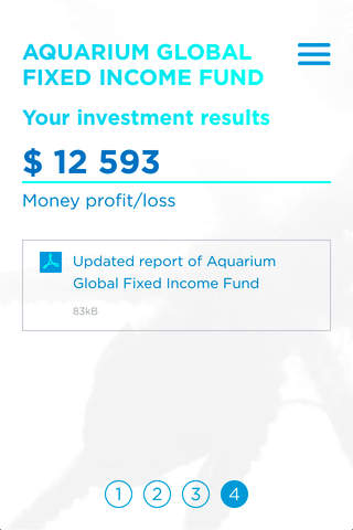 Aquarium Investments Funds for iPhone - náhled