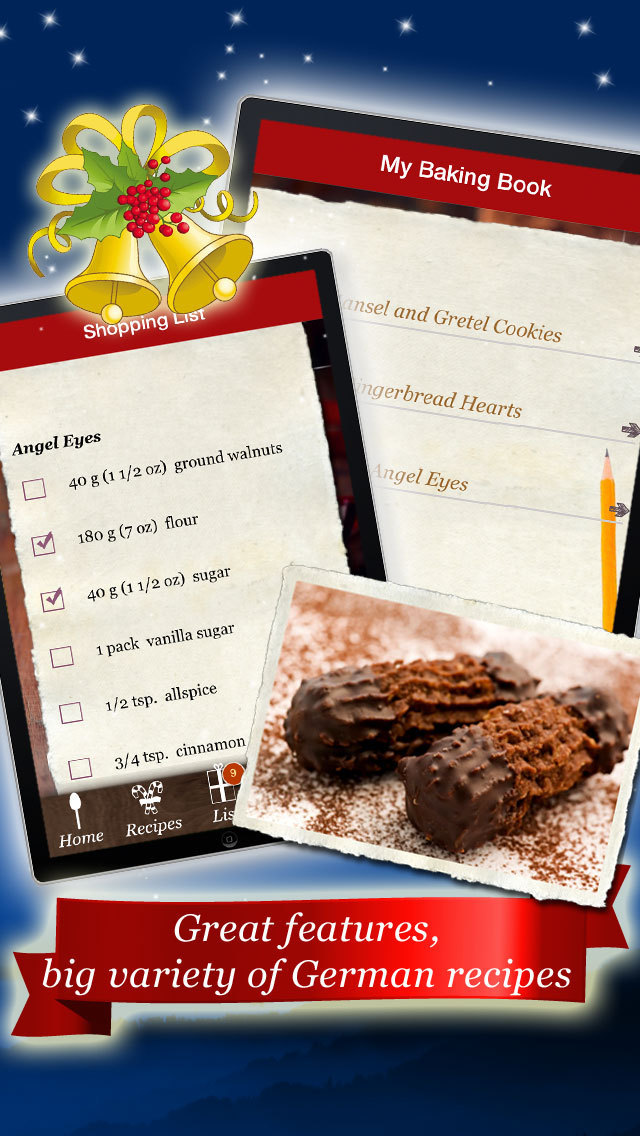 German Cookies and Treats - Recipes for Christmas and the Holiday Season screenshot 5