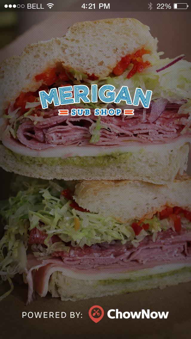 Merigan Sub Shop screenshot 1