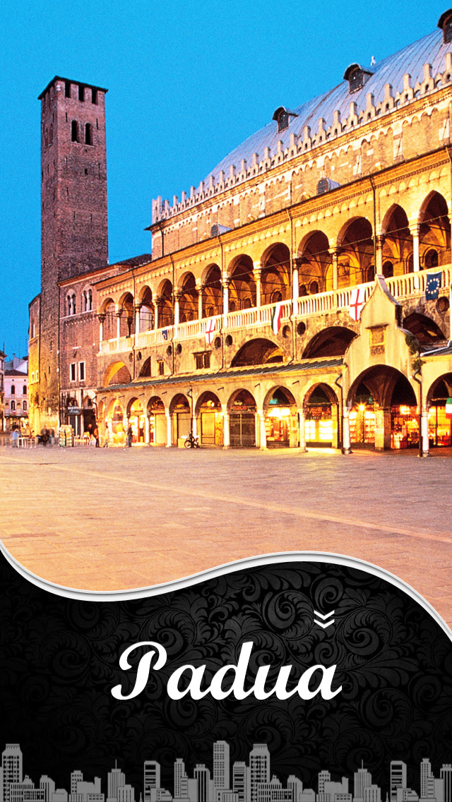 Padua City Offline Travel Guide screenshot 1