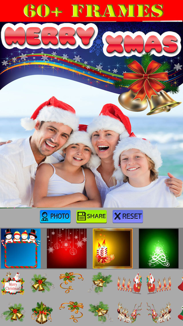 Best Xmas Photo Frames screenshot 1