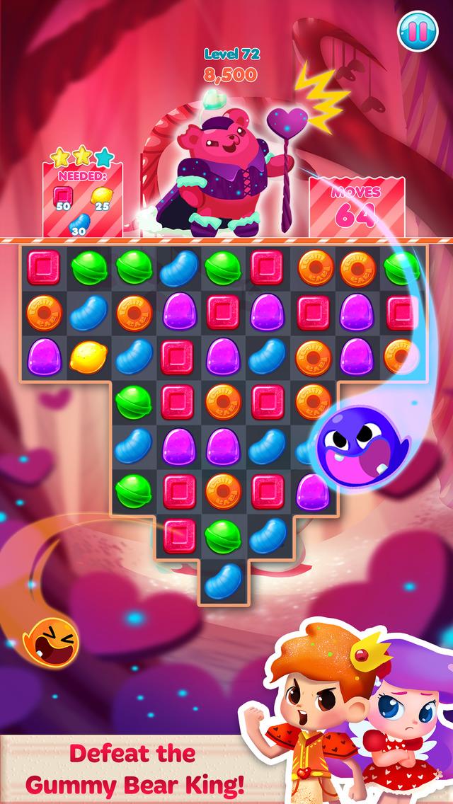 Candy Blast Mania Valentines screenshot 2