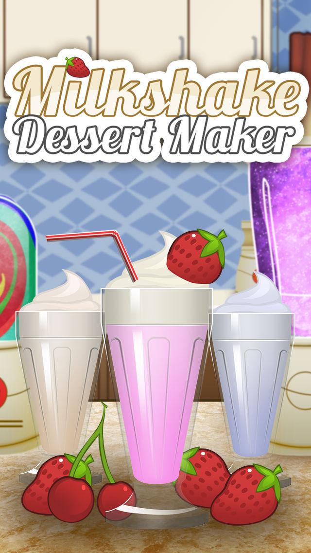 Ice Cream Milkshake Smoothie Dessert Drink Maker screenshot 1