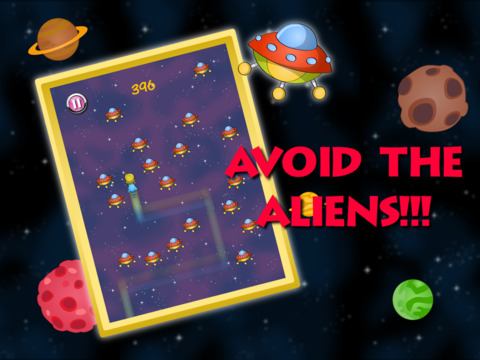UFO Attack PRO Super Girls screenshot 5