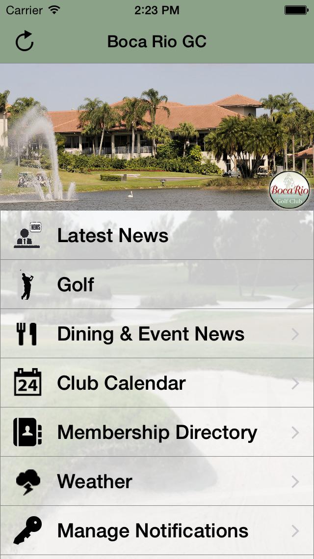 Boca Rio Golf Club screenshot 1