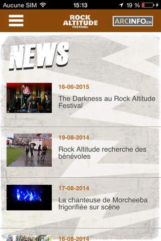 Rock Altitude Festival - náhled