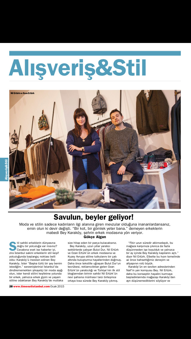 Time Out Istanbul Magazine screenshot 4