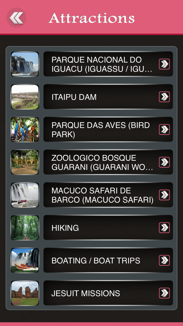 Foz do Iguacu Travel Guide screenshot 3