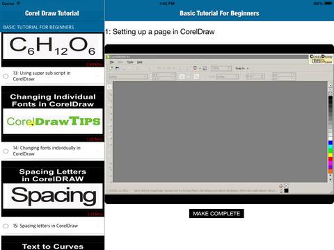 CorelDraw Tutorial Video Training