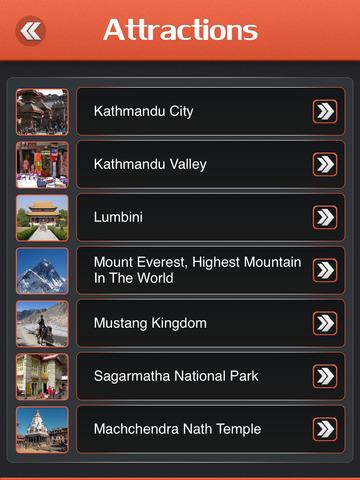 Kathmandu Offline Travel Guide screenshot 8