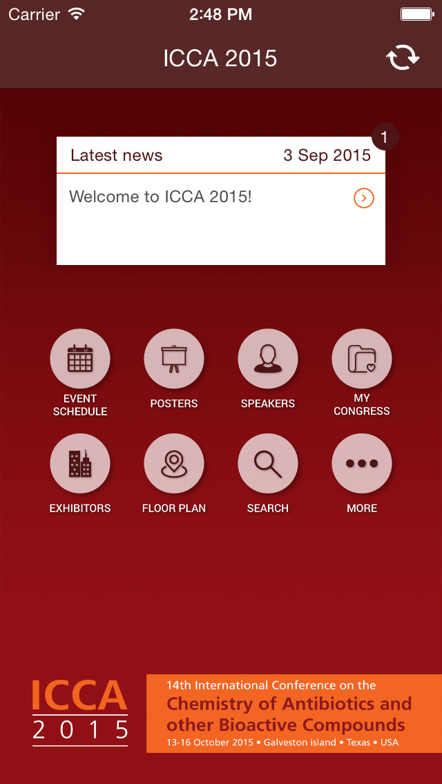 ICCA2015 screenshot 2