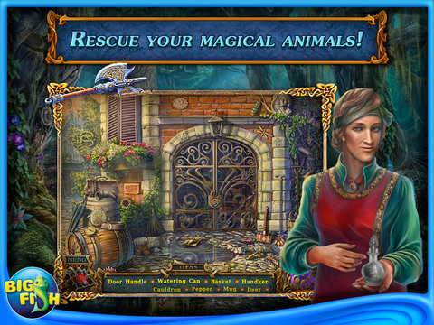 Spirits of Mystery: The Dark Minotaur HD - A Hidden Object Game with Hidden Objects screenshot #2