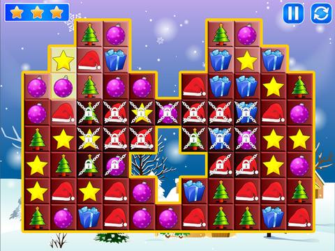 Christmas Match Boom - Holiday Season Puzzle Game with Santa Claus screenshot 7