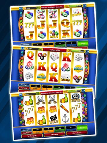 `Lucky Gold Rich Las Vegas Casino Coin Jackpot 777 Slots - Slot Machine with Blackjack, Solitaire, Bonus Prize Wheel screenshot 10