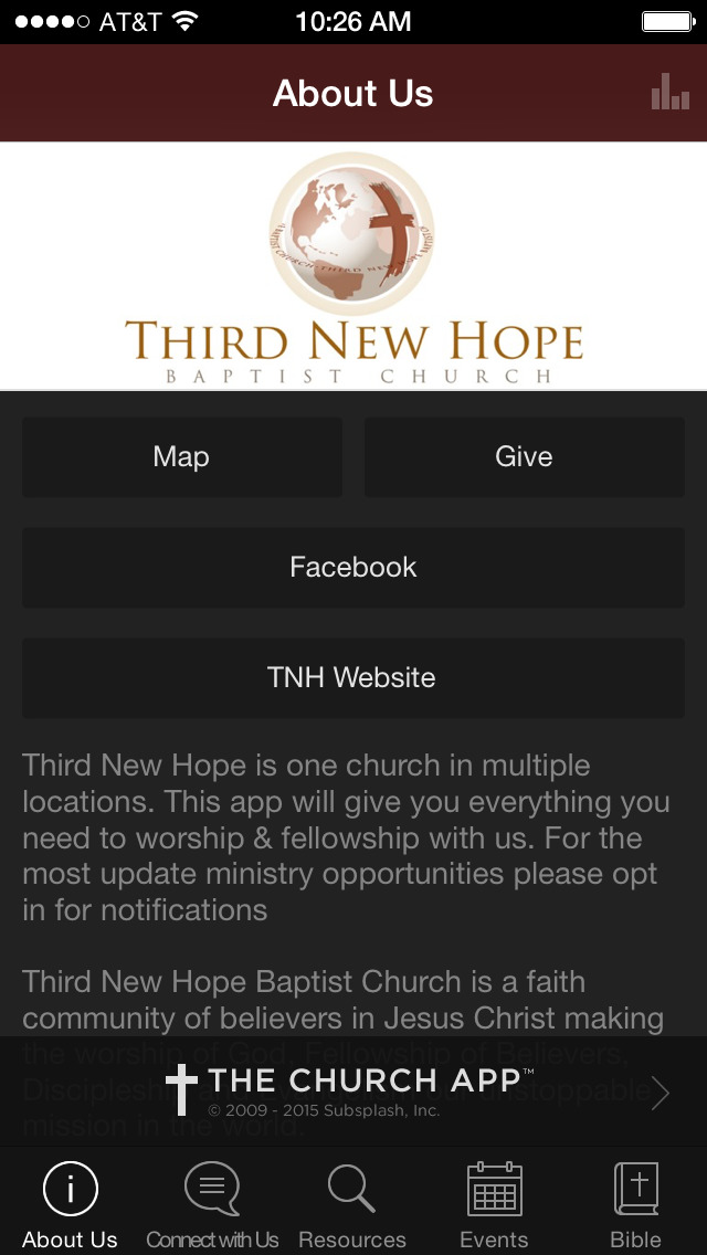 Third New Hope Baptist Church screenshot 2