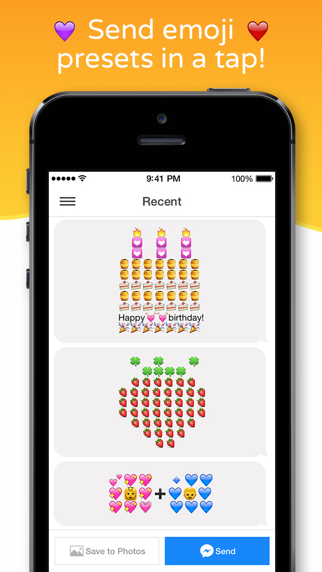 Emoji Keypad for Messenger - Free Emojis Keyboard, Stickers, Emoticons & Fonts for Your Messages screenshot 2