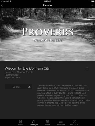 Tri-Cities Baptist Church screenshot 6