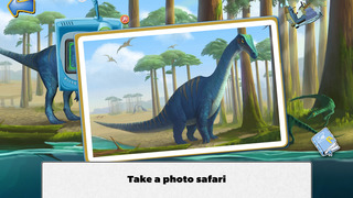 Ansel & Clair: Triassic Dinosaurs - A Fingerprint Network App screenshot 3