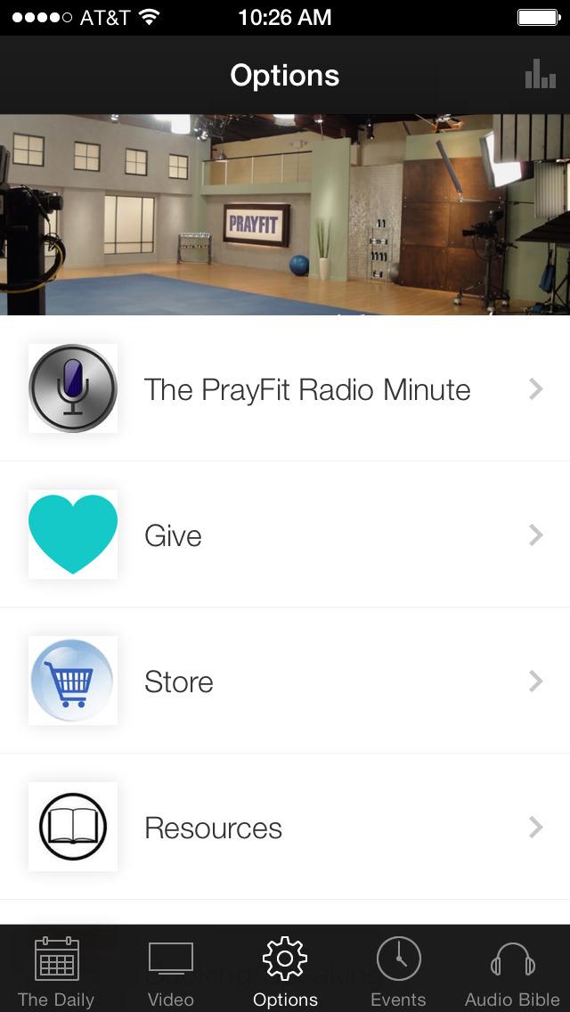 PrayFit Ministries screenshot 1