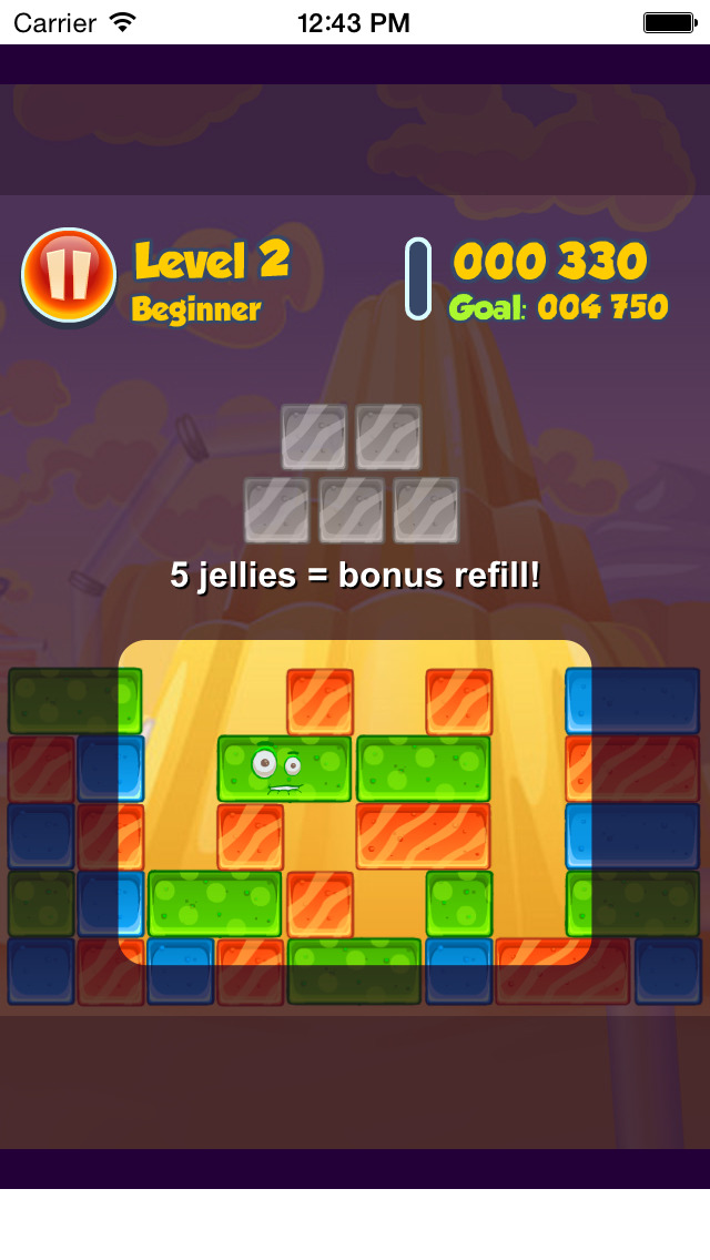 Jelly Collapse Free screenshot 5