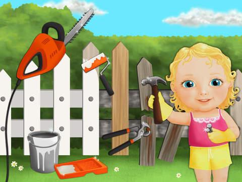 Sweet Baby Girl Clean Up 2 - My House, Garden and Garage (No Ads) screenshot 6