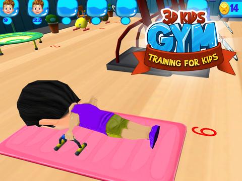 3D Kids Gym Training for kids screenshot 8