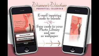 Women's Wisdom Perpetual Calendar - Christiane Northrup, M.D. screenshot 5
