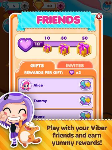 Viber Candy Mania screenshot 9
