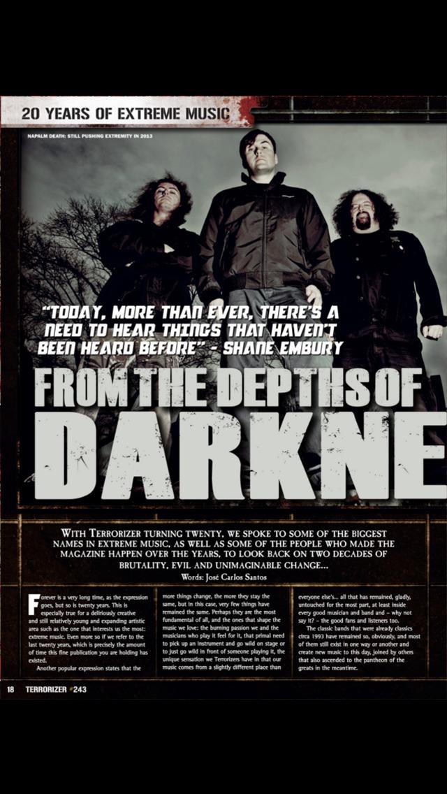 Terrorizer Magazine screenshot 2