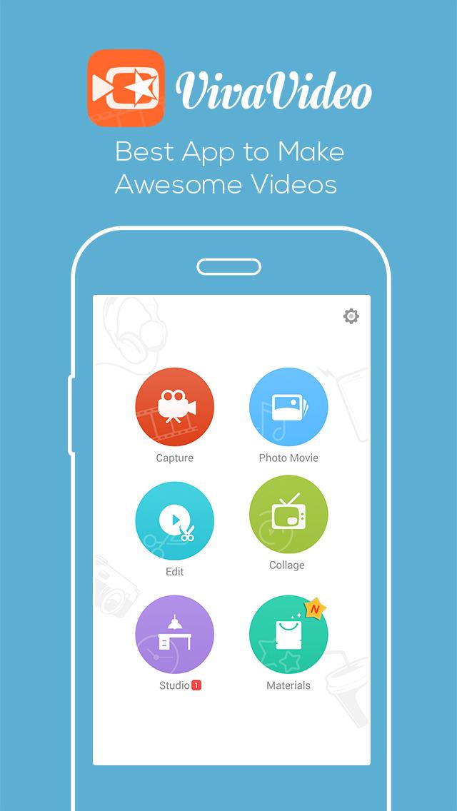 VivaVideo - Video Maker&Editor screenshot 1