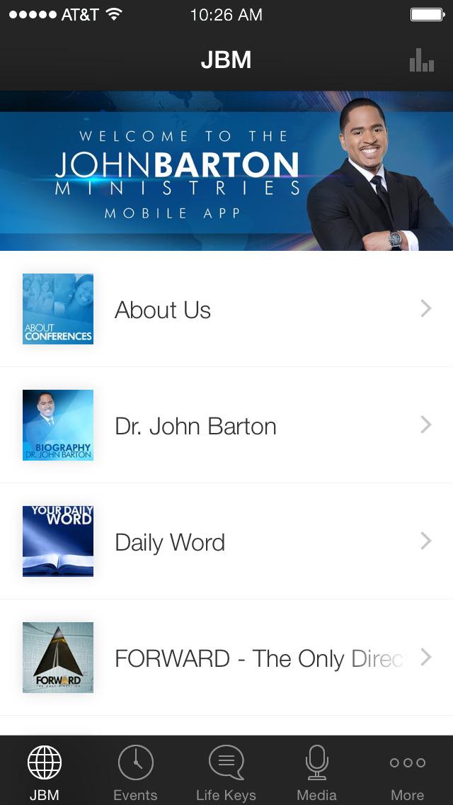 John Barton Ministries screenshot 1