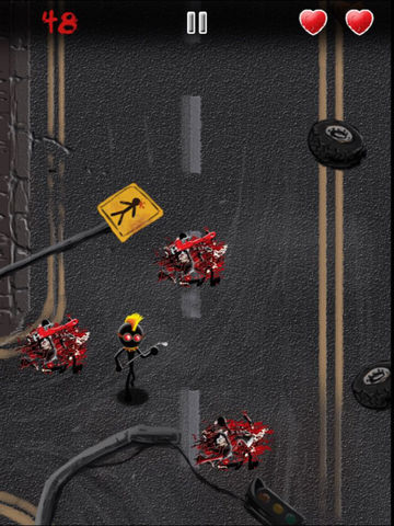 Angry Stickman Smasher - eXtreme Blood and Guts Edition screenshot 6