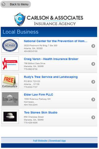 Carlson & Associates Insurance Agency - náhled