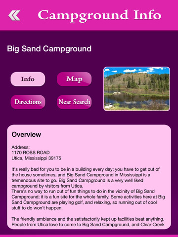 Mississippi Campgrounds Guide screenshot 8
